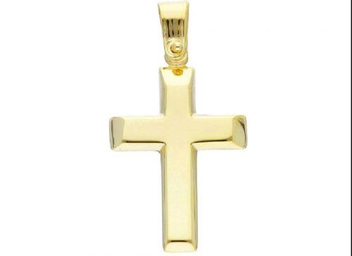 Χρυσός σταυρός Κ14-100 -κοσμήματα μαμόγλου αθήνα
