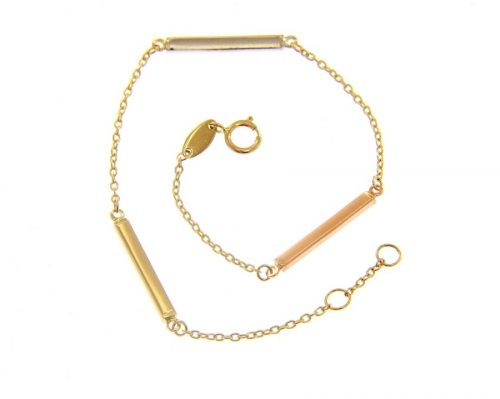 Χρυσό βραχιόλι Κ14-910-Κοσμήματα μαμόγλου αθήνα