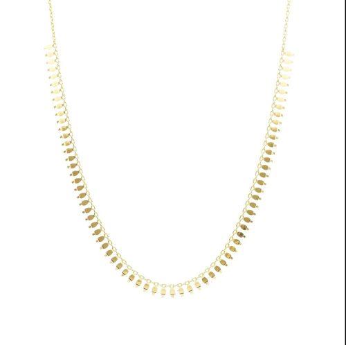 Χρυσό κολιέ Κ14-919-Κοσμήματα μαμόγλου αθήνα