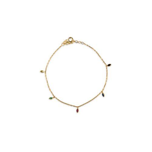 Βραχιόλι χρυσό Κ9-90-κοσμήματα μαμόγλου Αθήνα