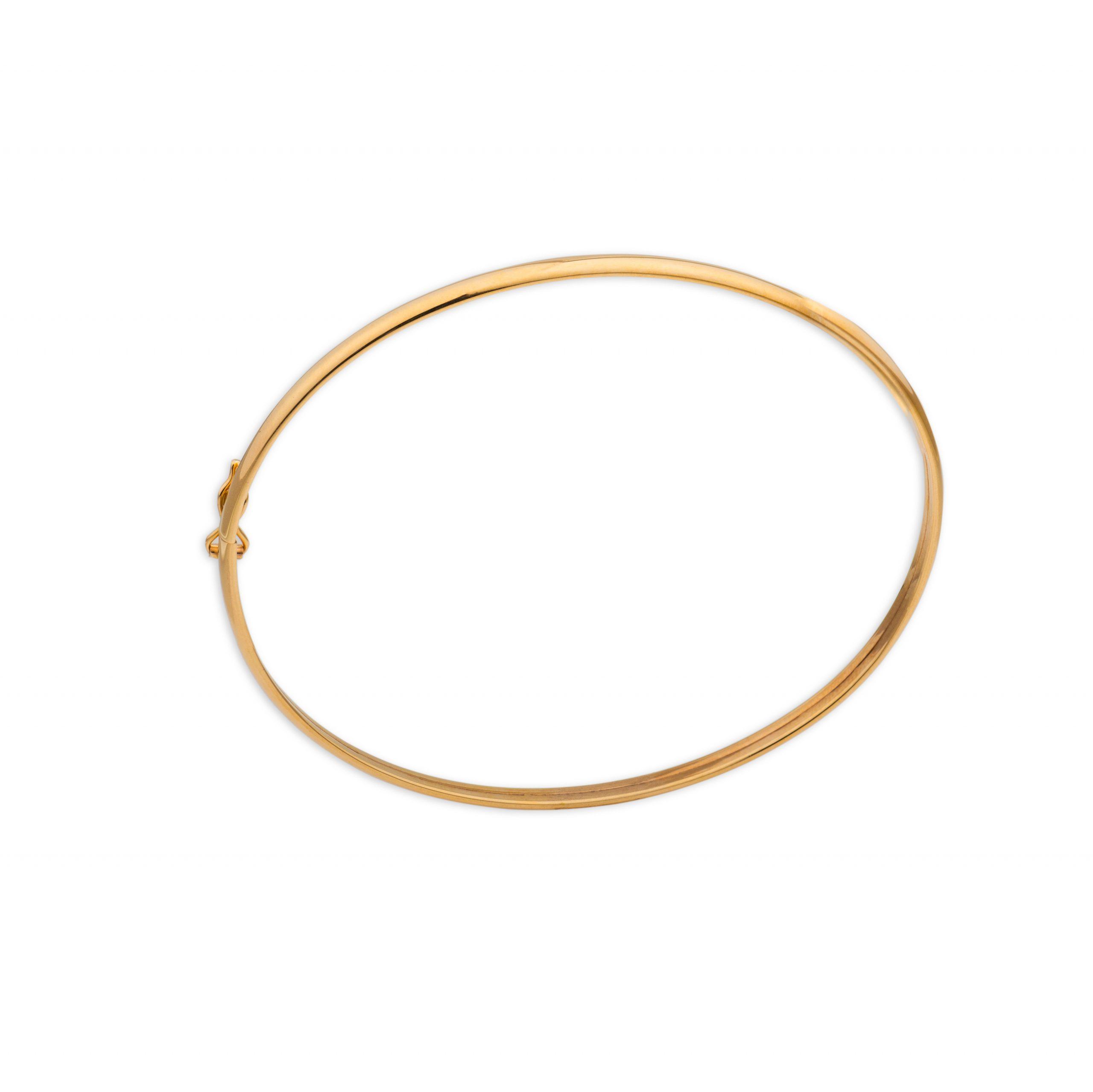 Βραχιόλι χρυσό βέργα Κ14-45-κοσμήματα μαμόγλου Αθήνα