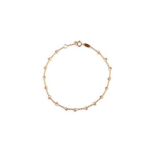 Βραχιόλι χρυσό μπίλιες Κ9-7-κοσμήματα μαμόγλου Αθήνα