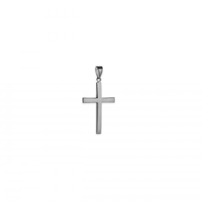Λευκόχρυσος σταυρός Κ14-100-κοσμήματα μαμόγλου Αθήνα