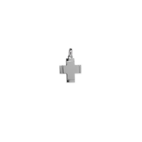 Λευκόχρυσος σταυρός Κ14-198-κοσμήματα μαμόγλου Αθήνα