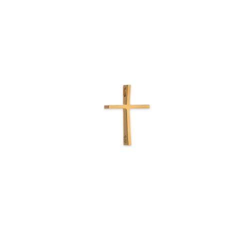 Χρυσός σταυρός Κ14 με κούρμπα μικρός-κοσμήματα μαμόγλου αθήνα